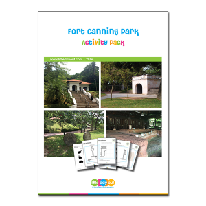 Fort Canning Park Little Day Out Activity Pack