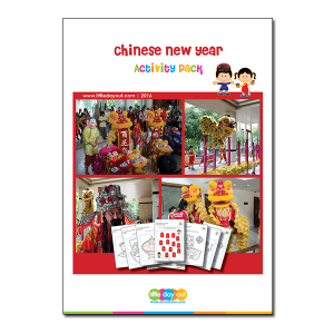 Little Day Out's Chinese New Year Little Day Out Activity Pack