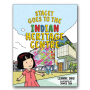 Stacey Goes to Indian Heritage Centre