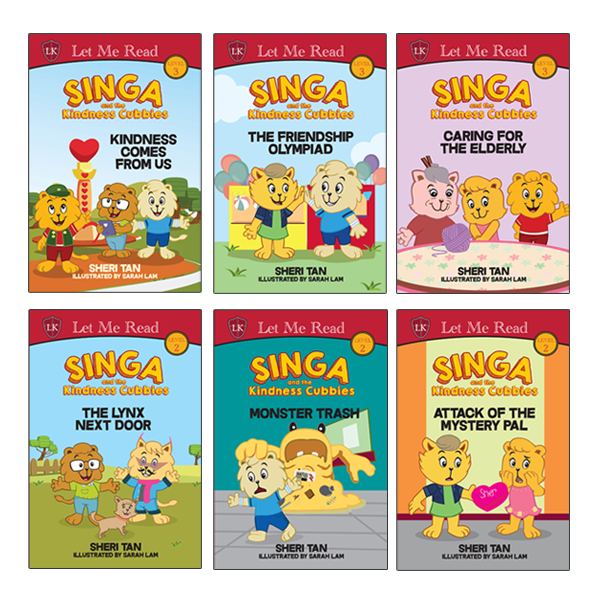 Singa and the Kindness Cubbies Series