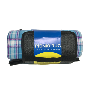 Picnic Rug with Waterproof Backing - Alt