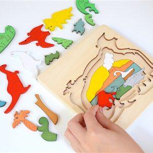 Dino Wooden Jigsaw