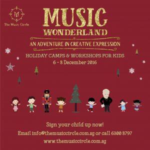 Music Circle's Music Wonderland Holiday Camp