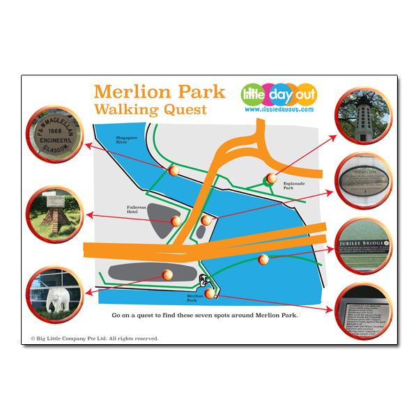 Merlion Park Walking Quest