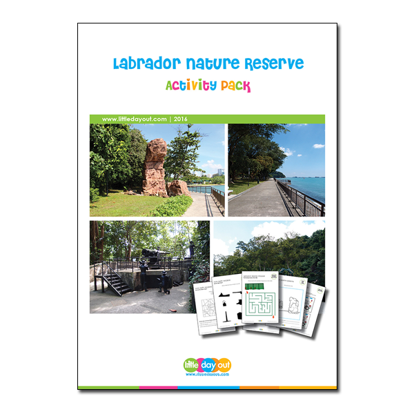 Labrador Nature Reserve Little Day Out Activity Pack