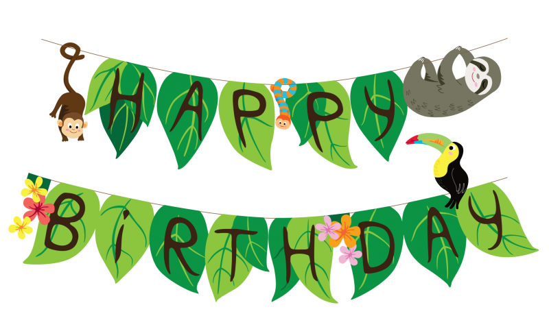 rainforest-animals-bunting-cover