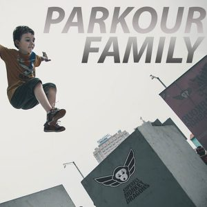 Superfly Monkey Dragons Parkour Family