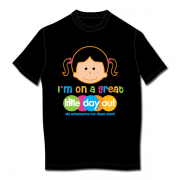 I'm on a Great Little Day Out Elle T-shirt