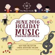 The Music Circle June 2016 Holiday Programme