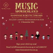 Music Circle's Music Wonderland Holiday Camp